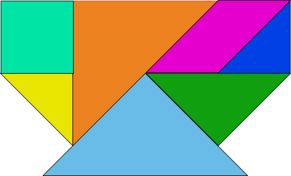 Click to Make Tangram Puzzles